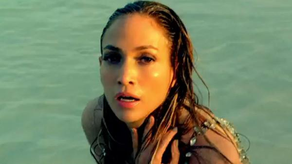 Jennifer Lopez appears in a scene from her 2011 music video Im Into You. - Provided courtesy of Island Records