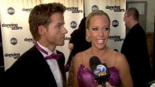 Kendra Wilkinson talks about her Dancing With The Stars week 7 performance.