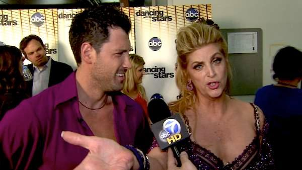 Kirstie Alley on her 7th night on 'DWTS'