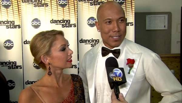 Hines Ward on his 7th night on 'DWTS'