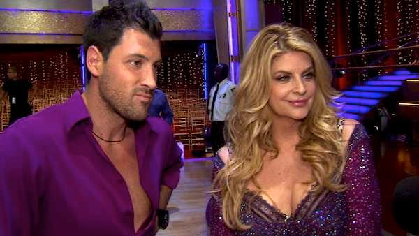 Kirstie Alley speaks after the sixth elimination on Dancing With The Stars: The Results Show on May 3.