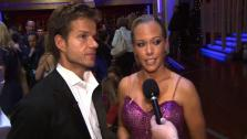Kendra Wilkinson speaks after the sixth elimination on Dancing With The Stars: The Results Show on May 3.