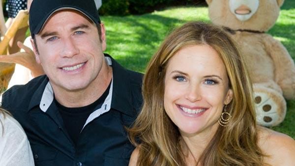 Kelly Preston and John Travolta appear in an undated photo on the actress official website. - Provided courtesy of KellyPreston.com / Michael Doven