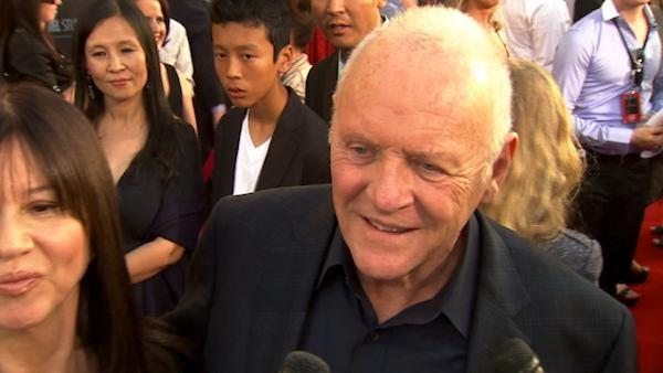 Anthony Hopkins on his a superhero role