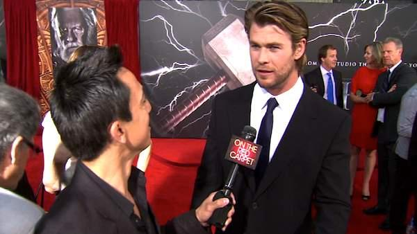Chris Hemsworth talks 'Thor'