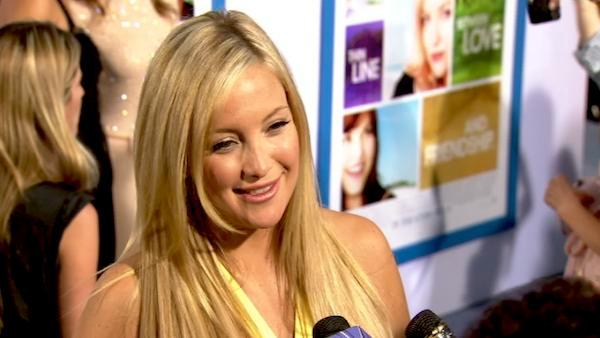 Kate Hudson talks romcom character