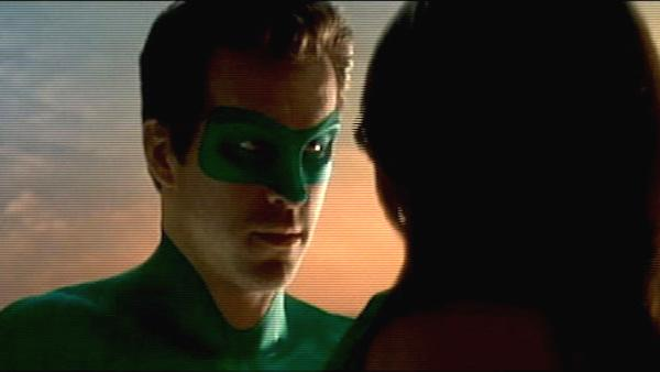 Ryan Reynolds and Blake Lively appear in a still from their 2011 film, Green Lantern. - Provided courtesy of Warner Bros. Pictures