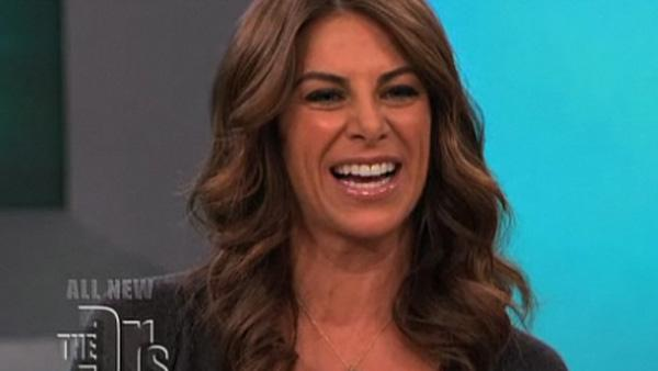 Jillian Michaels of The Biggest Loser appears on The Doctors, a CBS syndicated series, in 2008. - Provided courtesy of CBS