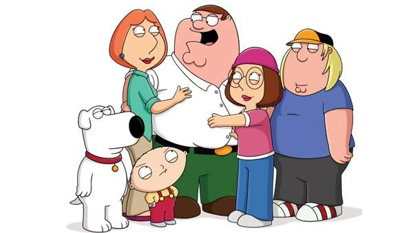 A promotional photo for Family Guy. - Provided courtesy of AP / Fox