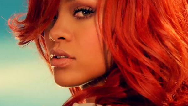 Rihanna appears in a still from her California King Bed music video. - Provided courtesy of YouTube