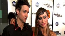 Ralph Macchio talks to OnTheRedCarpet.com after the eigth week of Dancing With The Stars. - Provided courtesy of OTRC