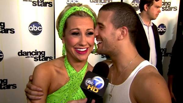 Chelsea Kane on her 8th night on 'DWTS'