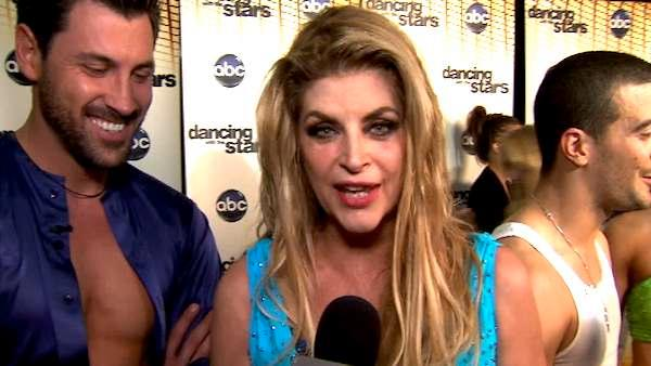 Kirstie Alley on her 8th night on 'DWTS'