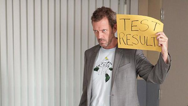 Hugh Laurie appears as Dr. Gregory House in a scene from House M.D. in 2010. - Provided courtesy of Adam Taylor / FOX