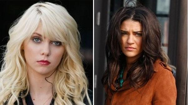 Taylor Momsen and Jessica Szohr appear in scenes from the CW series Gossip Girl. - Provided courtesy of The CW