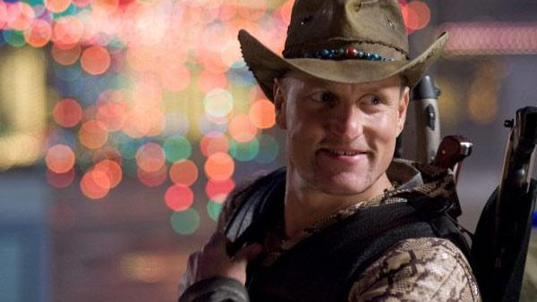 Woody Harrelson appears in a scene from the 2009 movie Zombieland. - Provided courtesy of Sony Pictures
