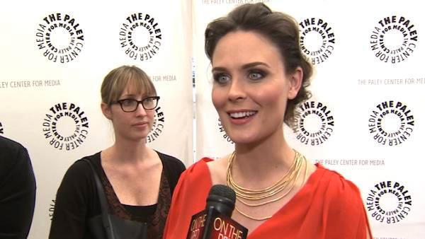 Emily Deschanel, David Boreanaz talk 'Bones'