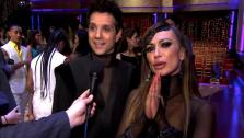 Ralph Macchio and Karina Smirnoff talk to OnTheRedCarpet.com after Dancing With The Stars on May 10, 2011. - Provided courtesy of OTRC