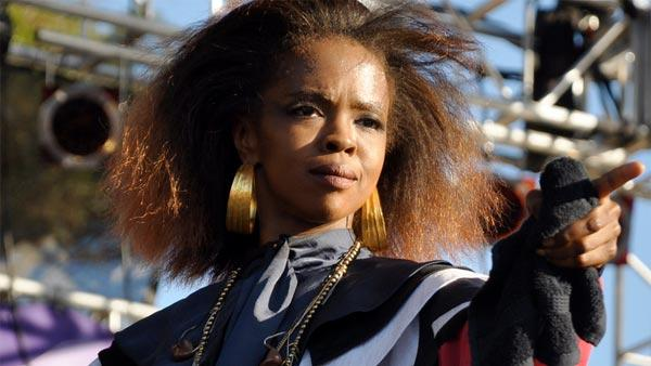 Lauryn Hill performs at the 2010 Harmony Festival in Santa Rosa, California in June 2010. - Provided courtesy of flickr.com/photos/islandgal