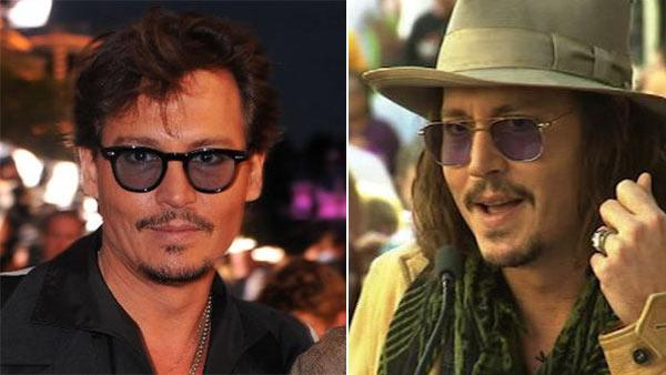 Johnny Depp appears at the May 2011 Los Angeles premiere of Pirates of the Caribbean: On Stranger Tides. / Johnny Depp gives a speech honoring Penelope Cruz before she receives a star on the Hollywood Walk of Fame on April 1, 2011. - Provided courtesy of Walt Disney Company / OTRC