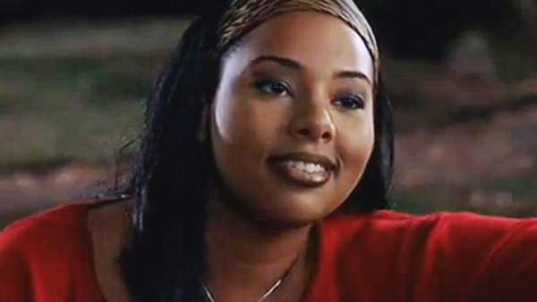 Mia Amber Davis appears in a scene from the movie 'Road Trip' in 2000.