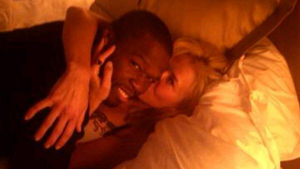 Chelsea Handler and 50 Cent appear in Twitter picture posted on Chelsea Handlers official Twitter account on December 13, 2010. - Provided courtesy of Lockerz.com/s/62764412