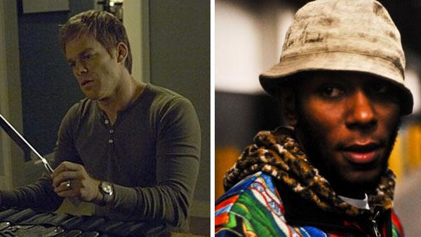 Michael C. Hall appears in a scene from Dexter in 2010. / Hip hop artist and actor Mos Def appeared in a photo posted on his Facebook page on Dec. 17, 2009. - Provided courtesy of Showtime / facebook.com/MosDef