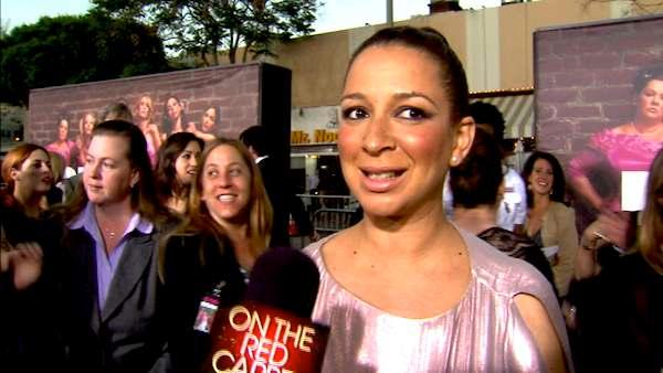 Maya Rudolph talks to OnTheRedCarpet.com at the April 2011 premiere of the movie Bridesmaids. - Provided courtesy of OTRC
