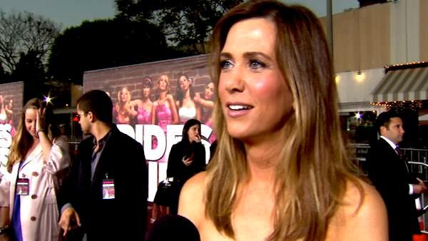Kristen Wiig talks to OnTheRedCarpet.com at the April 2011 premiere of the movie Bridesmaids. - Provided courtesy of OTRC