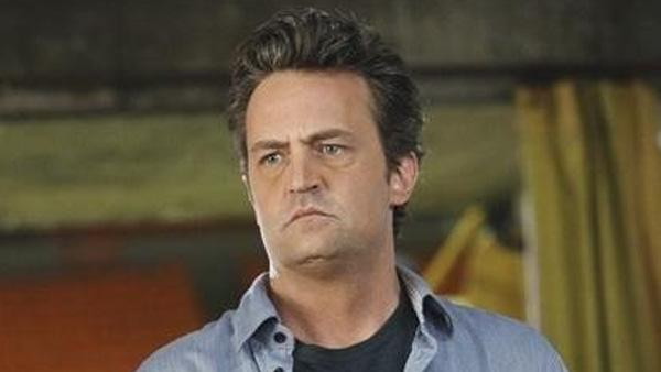 Matthew Perry appears in a scene from the 2011 ABC comedy series 'Mr. Sunshine.'