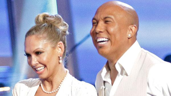 Hines Ward and Kym Johnson during the May 9, 2011 episode of Dancing With The Stars. - Provided courtesy of ABC