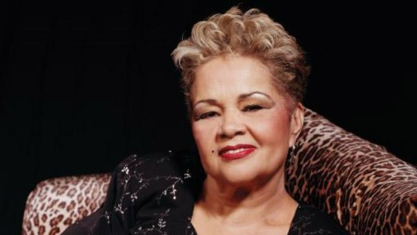 Blues singer Etta James is pictured in a photo posted on her Facebook page on March 18, 2009. - Provided courtesy of facebook.com/EttaJames