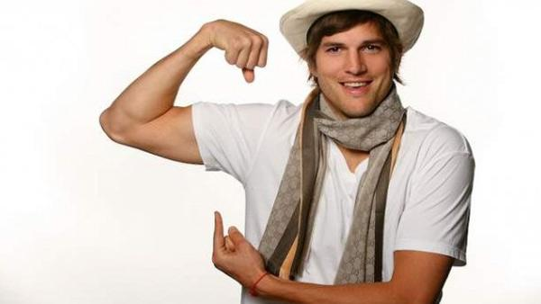 Ashton Kutcher appears in a photo posted on his Facebook page on Feb. 27, 2009. - Provided courtesy of facebook.com/Ashton