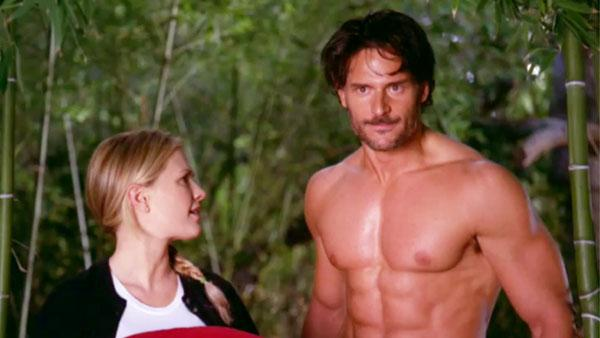 Anna Paquin and Joe Manganiello appear in the trailer for season four of True Blood - Provided courtesy of HBO