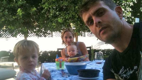 Joey McIntyre in a picture with his family on his official Twitter page. - Provided courtesy of twitter.com/joeymcintyre