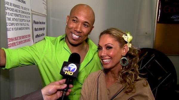Hines Ward on his 9th night on 'DWTS'