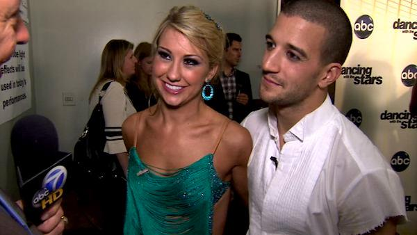 Chelsea Kane on her 9th night on 'DWTS'