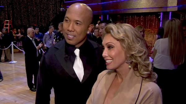 Hines Ward talks after 8th results show