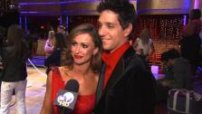Ralph Macchio speaks after the eighth elimination on Dancing With The Stars: The Results Show on May 17. - Provided courtesy of OTRC