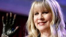Grammy Award-winning singer Stevie Nicks performed two songs, Landslide, accompanied by Tony and Cheryl on the dance floor, and her new single Secret Love. - Provided courtesy of OTRC