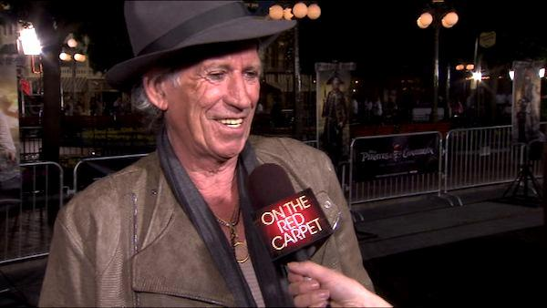Keith Richards talks 'Pirates of the Caribbean'