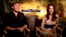 Sam Claflin and Astrid Berges-Frisbey talk to OnTheRedCarpet.com about Pirates of the Caribbean: On Stranger Tides. - Provided courtesy of OTRC