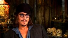 Johnny Depp talks about Pirates of the Caribbean: On Stranger Tides. - Provided courtesy of none / Walt Disney Studios