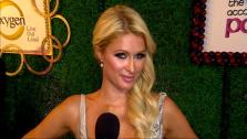 Paris Hilton talks to OnTheRedCarpet.com about her new Oxygen reality show The World According To Paris at the May 2011 premiere for the series. - Provided courtesy of OTRC