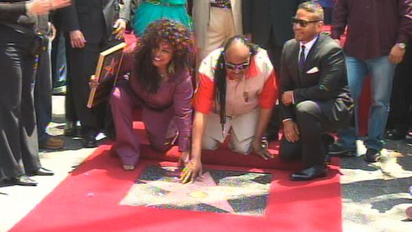 Chaka Khan gets star on Walk of Fame