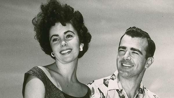 Elizabeth Taylor with William Pawley Jr. in an undated photo from 1949. - Provided courtesy of RR Auction