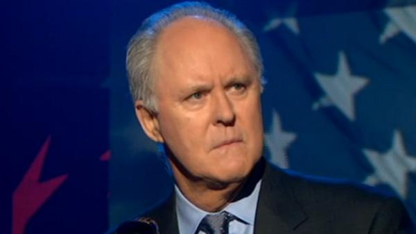John Lithgow appears on The Colbert Report on April 19, 2011. - Provided courtesy of Comedy Central