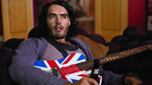 Russell Brand appears in a still from his 2010 film, 'Get Him to the Greek.'