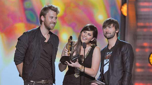 Lady Antebellum wins at the 2011 Billboard Music Awards in Las Vegas on Sunday, May 22, 2011. - Provided courtesy of ABC / Ethan Miller