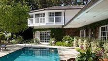 The pool outside Elizabeth Taylors Bel Air home is seen in this photo provided by David Mossler of Teles Properties, Beverly Hills. - Provided courtesy of David Mossler/ Teles Properties, Beverly Hills / elizabethtaylorestate.com